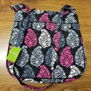 VERA BRADLEY TRIPLE ZIP HIPSTER NORTHERN LIGHTS